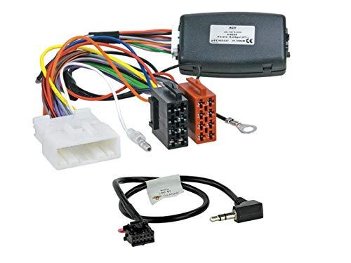 Adattatore per telecomando da volante LFB compatibile con autoradio Pioneer, adatto per Nissan Qashqai J10 2007-2013.