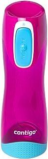 Contigo 50932 Swish Autoseal Water Bottle, Magenta, Pink