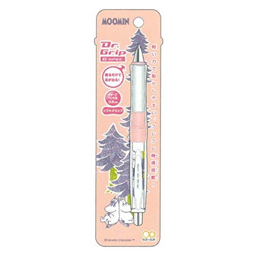 サンスター文具 ドクターグリップ Gスペック シャープペンシル 0.5mm ムーミン ピンク