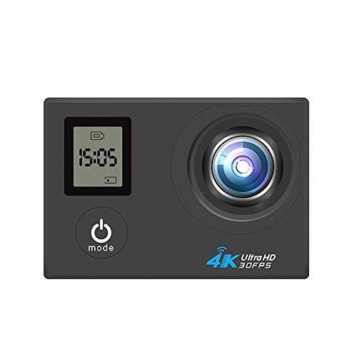 FengsHUAI Action Camera, waterdichte 4K dual screen met afstandsbediening wifi outdoor sport camera DV duivel luchtcamera HD camera