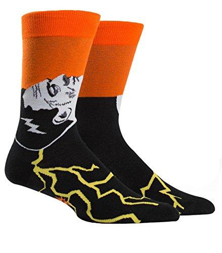 Sock It To Me Herren-Crew Socken - Frankenstein's Sockster