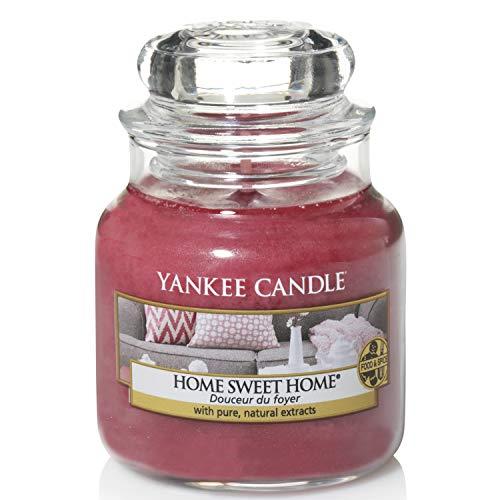 Yankee Candle Yankee candle duftkerze im glas klein   home sweet home   brenndauer bis zu 30 stunden
