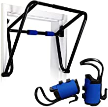 Teeter EZ-Up Inversion & Chin-Up System with Rack, Gravity Boots, and Health Back DVD (MOUNTS INTO DOORFRAME)