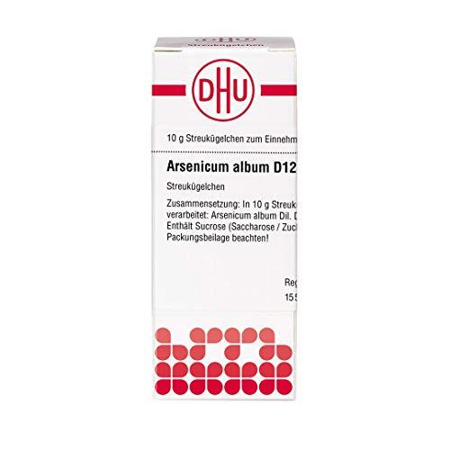 DHU Arsenicum album D12 Streukügelchen, 10 g Globuli