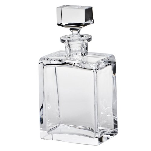 MOSER CRYSTAL DECANTERS Boss decanter 32 oz. cut clear