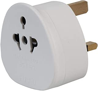 auna EU Adapter European to UK Adapter EU to UK Plug Adaptor