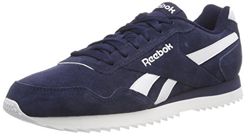 Reebok Royal Glide Rpl, Zapatillas de Trail Running para Hombre, Azul (Collegiate Navy/White Collegiate Navy/White), 37.5 EU