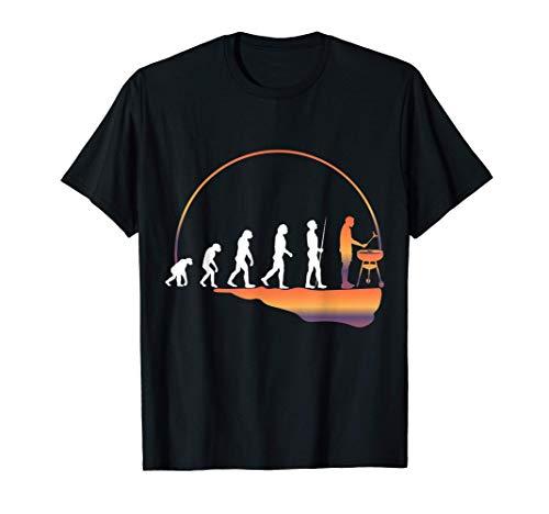 BBQ Grillmeister Auftragsgriller Grillen Grillparty T-Shirt