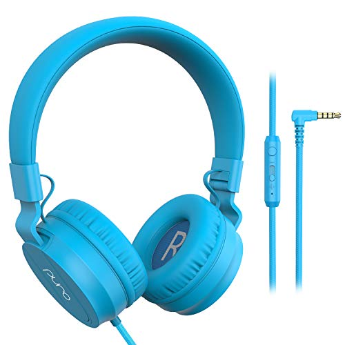PuroBasic Volume Limiting Wired Headphones for Kids