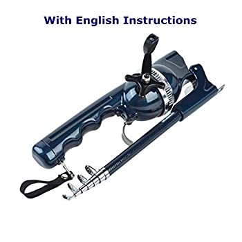 BLISSWILL Fishing Gear Fishing Rod and Reel Combos Pocket Telescopic Rod Compatible Fishing Rod with Fishing Line Portable Fishing Rods