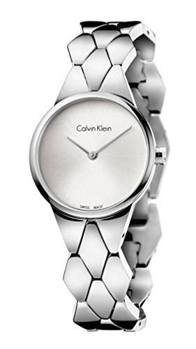 Calvin Klein Reloj serpiente mujer K6E23146
