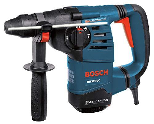 BOSCH 1-1/8-Inch SDS Rotary Hammer RH328VC with Vibration Control, Bosch Blue