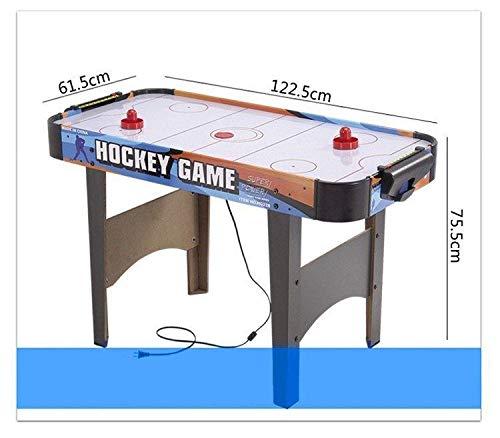 Kemket Air Hockey Juego de Mesa de Madera con 2 Discos y 2 ...