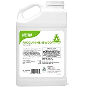 Quali-Pro Prodiamine, Pre-Emergent Herbicide, 5 lbs, Yellow Granules
