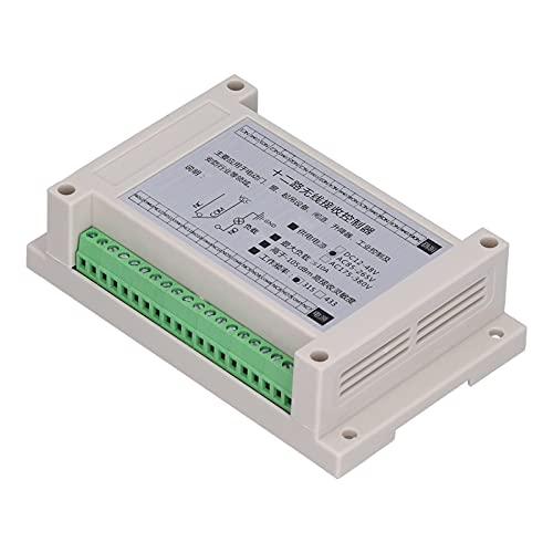 Interruptor de relé de control remoto Interruptor de control de motor de luz 12 vías 4000 metros AC85‑265V para puerta eléctrica, ventana, equipo de elevación