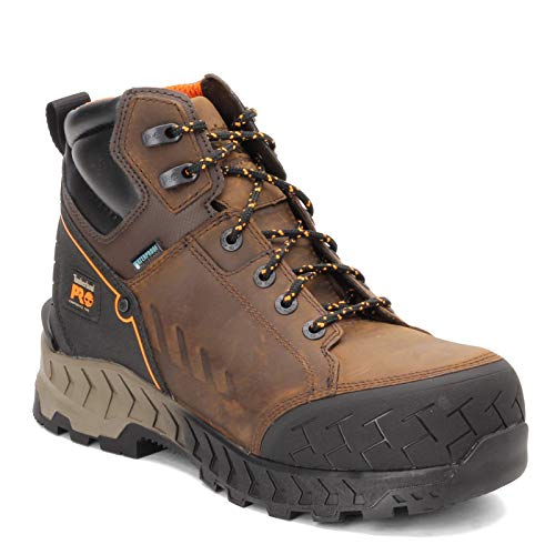 Timberland PRO Work Summit 6' Composite Safety Toe Waterproof Distressed Brown 9.5 E - Wide