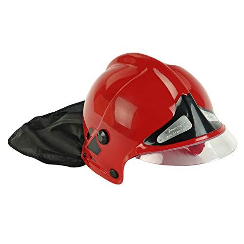 Klein - 8918 - Jeu d'imitation - Casque de pompier F1 rouge avec visière fixe et protège-nuque