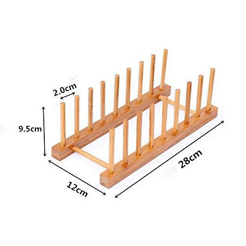 FEE-ZC Kaufen Sie fünf senden Sie EIN Bambusholz kreative Mode einfache kleine Bücherregal Bücherregal Tischplatten Ständer