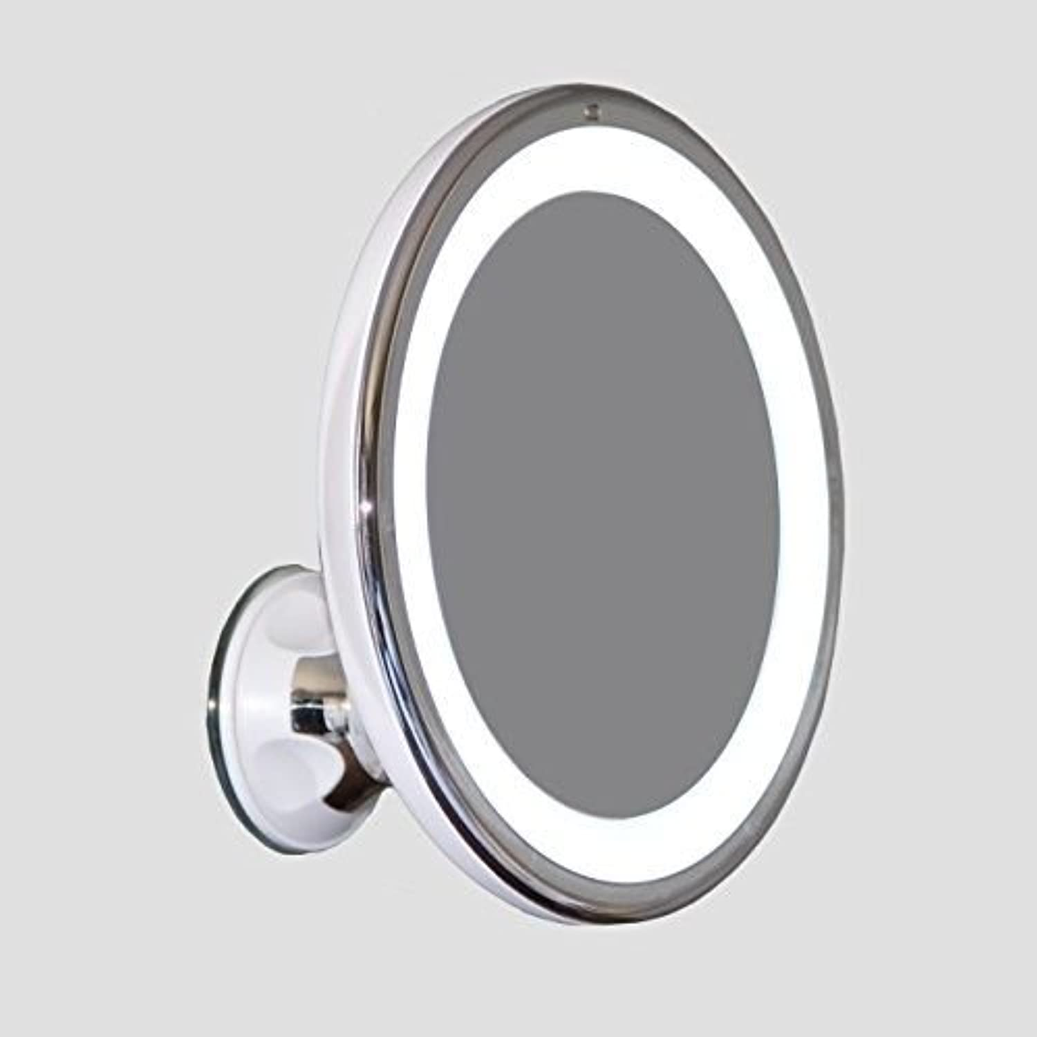 Makeup Mirror, LED - Adjustable 5X Magnification Lighted Vanity