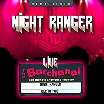The Bacchanal, San Diego, CA 18 Dec '88 (Live & Remastered)