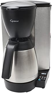 Capresso 485.05 MT600 Plus 10-Cup Programmable Coffee Maker with Thermal Carafe,Black