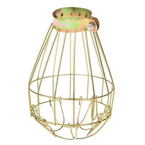 Coner Lamphoezen Retro ijzerdraad Lampbeschermers Klem Metalen verlichting Onderdelen Plafondmontage Hangstaven Cafe Lampenkap
