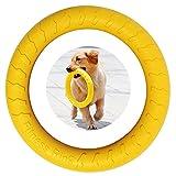 anello per il fitness del cane, anello per morso di cane, attrezzatura per esercitare l'agilità del cane,anello interattivo per l'addestramento del tiro alla fune per cani di taglia piccola e grande