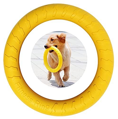 Anillo de Fitness para Perros, Anillo de Mordida de Perro, Equipo de Ejercicio de Agilidad para Perros, Anillo de Entrenamiento Interactivo de Tira y Afloja para Perros Pequeños y Grandes