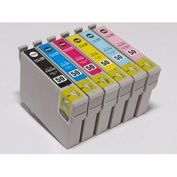 インク館 エプソン 互換インク 6色セット 【IC6CL50 】