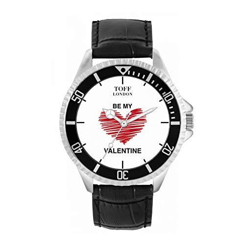 Toff London Reloj Be My Valentine Blanco con Corazón Rojo