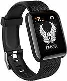 SHOPTOSHOP Smart Band ID16_PAR Men Women Fitness Tracker Smart Watch 1.3 inch Screen Blood Pressure...