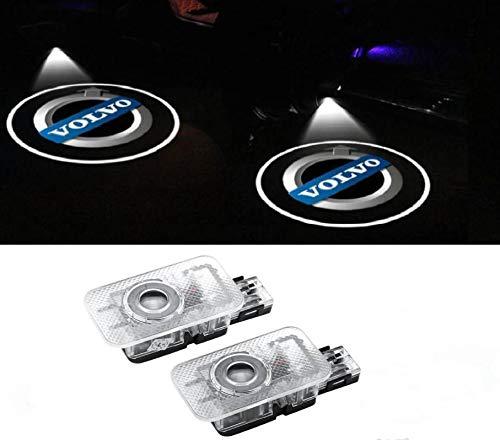 Sunshine Fly 2 Stück Autotür Logo Proiettori Auto Portiere Türbeleuchtung KFZ Beleuchtung Led Türen Einstiegsbeleuchtung Projektor Laser Door Willkommen Projektion Licht
