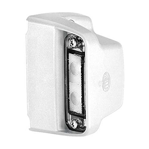 HELLA 2KA 012 271-237 Kennzeichenleuchte - LED - 12/24V - Anbau - Kabel: 2000mm - Stecker: Flachsteckhülse - seitlicher Anbau - Menge: 36
