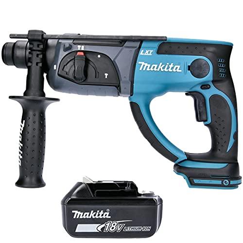 Makita DHR202 18V Li-Ion SDS+ Hammer Drill with 1 x 5.0Ah BL1850 Battery