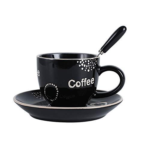Ynsfree Truthahn-Tassen, Keramik, Espressotassen und Untertassen, Teetasse, Kaffeetasse, Latte Art Cappuccino oder Amerikanisch, Muttertagsgeschenk, Kaffeetassen-Set