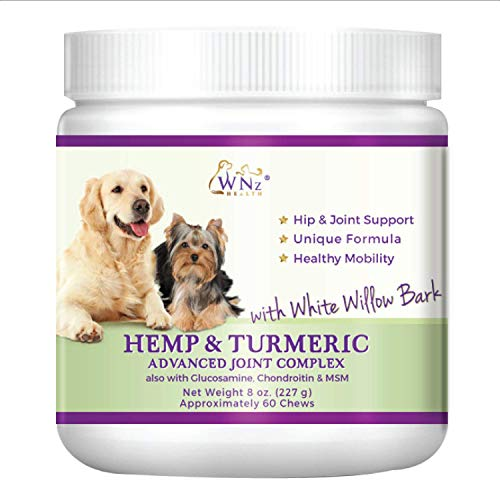 Hemp And Turmeric Chews For Dogs