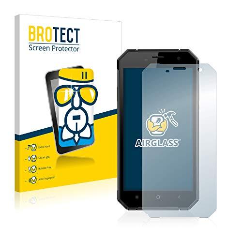 BROTECT Protector Pantalla Cristal Compatible con Nomu S30 Protector Pantalla Vidrio Dureza 9H AirGlass