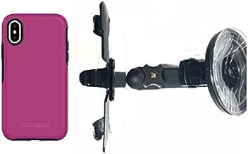SlipGrip Car Holder for Apple iPhone X Using Otterbox Symmetry Case HV