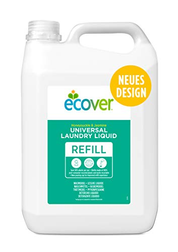 Ecover Universal Waschmittel Konzentrat Hibiskus & Jasmin, 5L (100 Waschladungen)