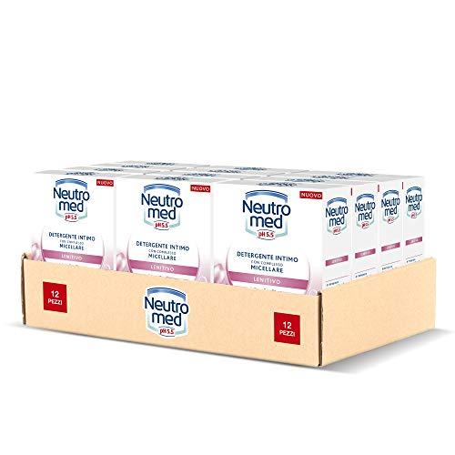 Neutromed Detergente Intimo Lenitivo, con Complesso Micellare, Azione Emolliente, pH 5.5,...