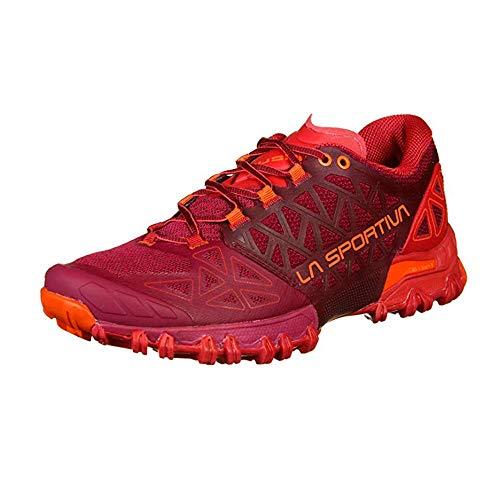 LA SPORTIVA Bushido II Woman, Zapatillas de Trail Running Mujer, Beet/Garnet, 38.5...