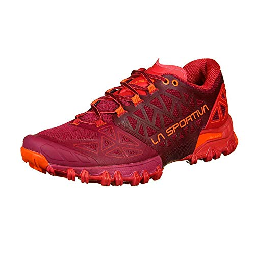 LA SPORTIVA Bushido II Woman, Zapatillas de Trail Running Mujer, Beet/Garnet, 39 EU