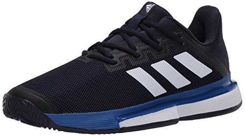 adidas Herren Solematch Bounce M Turnschuh, Legend Ink/FTWR White/Team Royal Blue, 40 EU