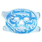 Healifty Kalte Gesichtsmaske Ice Compress Full Face Cooling Mask
