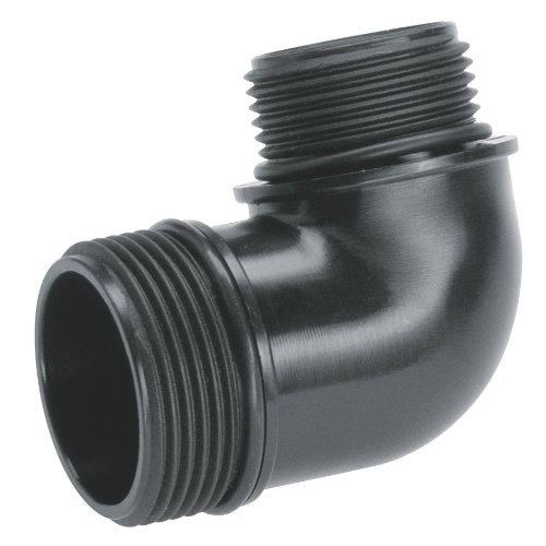 GARDENA aansluitstuk voor dompelpompen 42 mm: Overgangsstuk voor het aansluiten van dompelpompen op het GARDENA waterslang-steeksysteem (1744-20)