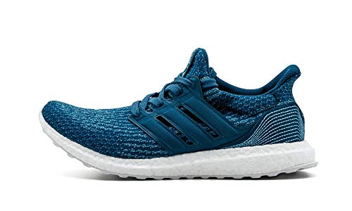 adidas Mens Ultraboost Parley Fabric Low Top Lace Up Running, Blue, Size 10.0