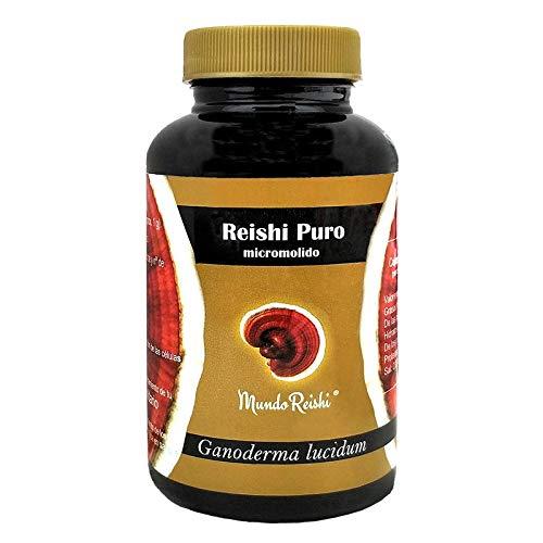 MundoReishi - Reishi 50g puro en polvo micromolido. Producto Clinicamente testado
