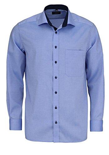 Eterna Mode GmbH E137 Chemise Business, Bleu (Hellblau 12), (Taille Fabricant (HerstellergrößeKragenweite 43 cm) Homme