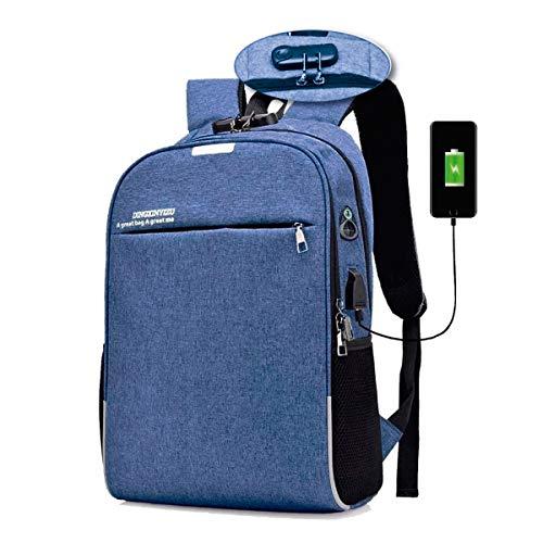 Mochila Para Notebook Com USB E Anti Furto