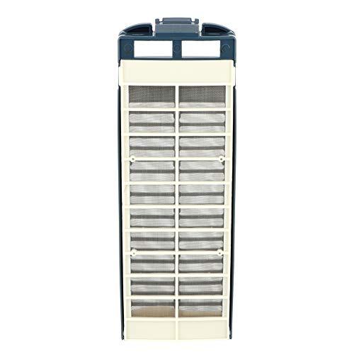 Filtro de reemplazo compatible, efectos de filtración 23.3 x 8cm Calidad Filtro de polvo Lavavajillas Bomba de drenaje hecha de plástico